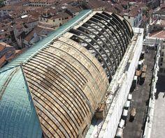 Basilica Palladiana Roof reconstruction  #Renaissance
