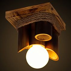 Rustic style furniture pieces are also gaining the reputation of […] Wooden Ceiling Design, Wooden Ceilings, Wood Design, Led Ceiling Light Fixtures, Flush Ceiling Lights, Ceiling Lamp, Bamboo Light, Bamboo Lamp, Bamboo Crafts