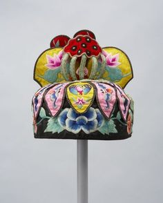 Chinese Children's Festival Hat~Image © 2015 Textile Museum of Canada