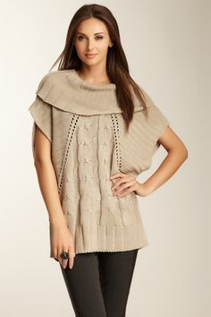 Dex Cowl Sweater - Oatmeal