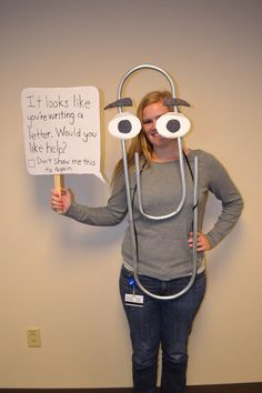 Clippy | 30 Of The Most Clever Halloween Costumes Of All Time