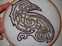 Urban Threads Norse Knotwork Set by Urist McDorf, thinking about this for one of my apron dresses.