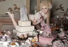 """Modern Marie Antoinette"" by photographer Marcella Rallo.  Read the article on www.glamjam.co"