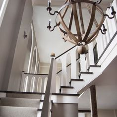 Nicely done stairwell. Modern Design, Pictures, Remodel, Decor and Ideas - page 12