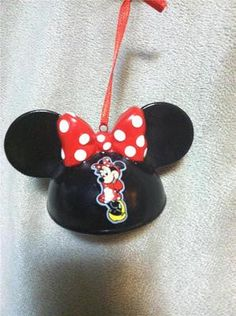 New Disney Parks Christmas Ornament Mickey Mouse Ears Hat Minnie Mouse Le Mickey Mouse Ears Hat, Minnie Mouse, Disney Christmas Ornaments, Ear Hats, Disney Ears, Plastic Canvas, Tree Decorations, Cheers, Parks