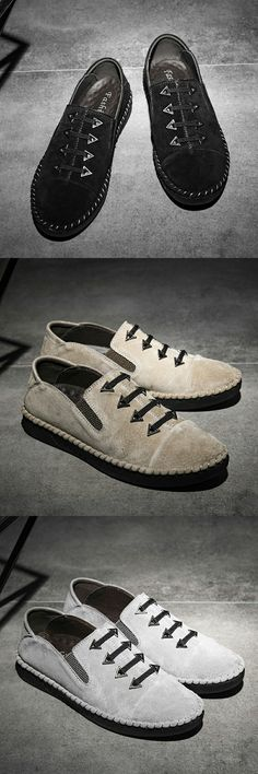 $29.48 <Click to buy> Emo Style Punk Men Casual Shoes