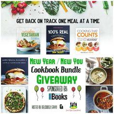 Cassandra M's Place: Cookbook Bundle Giveaway