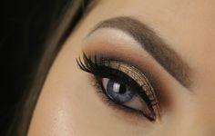 Golden Brown Smokey Eye | Too Faced Chocolate Bar Palette