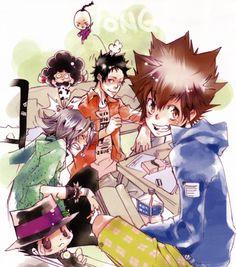 Download Katekyo Hitman Reborn!: Vongola Famiglia (4142x4690) - Minitokyo
