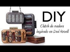 DIY: Haz un clutch de madera inspirado en Devi Kroell - YouTube