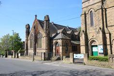 Burley Methodist Church, Cardigan Lane, opposite the entrance to Burley Park.