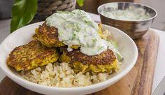 Cauliflower Pakoras with Turmeric Yoghurt | Good Chef Bad Chef