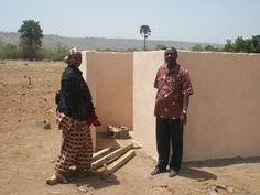 The women's restroom located near the Segetembougou Birthing Center 4/13.
