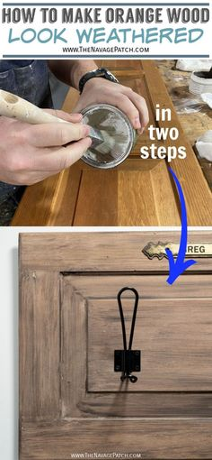 Upcycled Coat Rack & Easy Aged Wood Upcycled Coat Rack From A Cabinet Door Furniture Projects, Furniture Makeover, Diy Furniture, Diy Projects, Furniture Design, Furniture Vintage, Repurposed Furniture, Industrial Furniture, Vintage Industrial