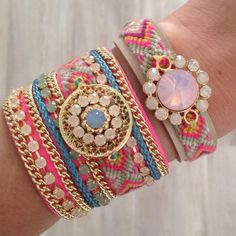 Perfect Lovely Ibiza armcandy , love these Jewels .. www.lovelyjewels.nl