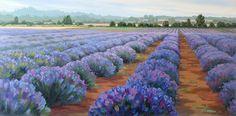 Lavender Legacy by Sonia Kane Oil ~ 18 x 36