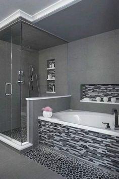 Stunning Master Bathroom Remodel Ideas Bathroom Inspiration // interiorwife The Prospero II is a contemporary acrylic modern bathtub that embraces the latest trend in luxury modern bathroom design. Bathroom Renovations, Home Remodeling, Bathroom Ideas, Bathroom Makeovers, Bathroom Organization, Budget Bathroom, Simple Bathroom, Bathroom Storage, Bathroom Inspiration