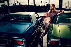 Publication: Interview Magazine March 2014 Model: Anna Ewers Photographer: Mikael Jansson