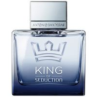Antonio Banderas King of Seduction Eau de This intense and energetic fragrance unleashes a whirlwind of elements in powerful contrasts. The strong yet delicate scent will take you to a kingdom of seduction. Top notes are grapefruit, bergamot, http://www.MightGet.com/january-2017-13/antonio-banderas-king-of-seduction-eau-de.asp