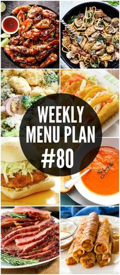 A delicious collection of dinner, side dish and dessert recipes to help you plan your weekly menu. Frugal Meals, Budget Meals, Easy Meals, Budget Recipes, Freezer Meals, Budget Cooking, Weeknight Meals, Weekly Menu Planning, Planning Budget