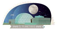 DETRÁS DE LA FACHADA (nº22): AVENiDA DEL PLANETARiO, 16 (Planetario de Madrid) [15 de septiembre de 2013]