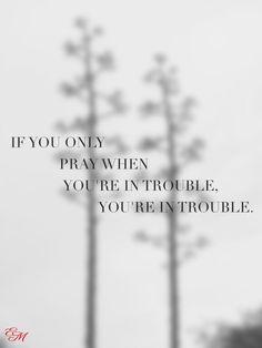 #Pray daily