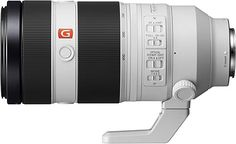 Shop Sony G Master FE mm GM OSS Full-Frame E-Mount Telephoto Zoom Lens White at Best Buy. Bokeh, Telephoto Zoom Lens, Full Frame Camera, Sony E Mount, Sony Camera, Aperture, Fes, Cool Things To Buy, Shutter Speed