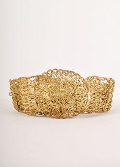 Ethereal Gold Belt – Luxury Garage Sale