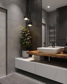 Fernanda Oliveira fernandaoliveirainteriores Fotos und Videos – Home Decor On a Budget Bathroom Modern Bathroom Decor, Bathroom Interior Design, Bathroom Ideas, Bathroom Designs, Bathroom Storage, Bathroom Goals, Bath Ideas, Bathroom Organization, Bad Inspiration