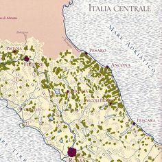 mmm.... Italian wines! #map #wine #italy $15