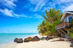 Beach front living...The Cook Islands Rarotonga