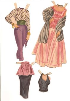 Dinah Shore Paper Dolls