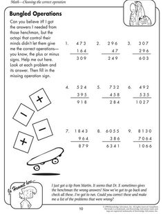 more numbers make it fun free printable math worksheet for 3rd grade home sweet homeschool. Black Bedroom Furniture Sets. Home Design Ideas