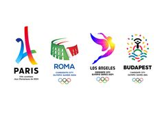 Here's every Olympic logo from 1896 to 2022 Swimsuit For Small Chest, Swimsuit For Body Type, Fathers Day Quotes, Fathers Day Crafts, Olympic Logo, City Branding, Anniversary Logo, Event Logo, Brand Guide