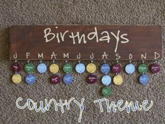 Birthday  Board  Country Theme by Pearlized on Etsy, $55.00
