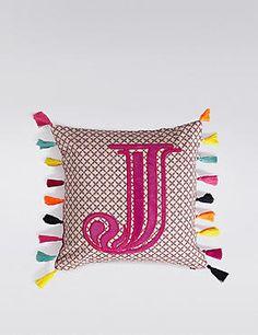 Alphabet Cushion J