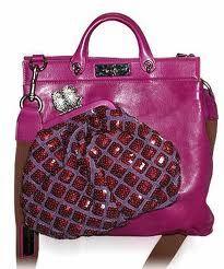 {mark jacobs} bag on bag.