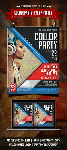 Collor Party Flyer / Poster