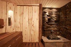Rustic Saunas, Sauna House, Sauna Design, Outdoor Sauna, Wellness Spa, Hobby Room, Beautiful Homes, House Styles, Interior