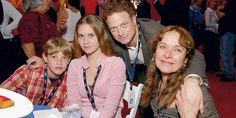 Photo of Gary and his family for fans of Gary Sinise.