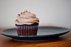 Amazing hazelnut buttercream frosting.  Not too sweet at all.