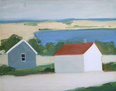 Maureen Gallace Maureen Paley Sandy Road oil on panel 28 x cm 2002 Impressionist Landscape, Landscape Paintings, Landscapes, Contemporary Landscape, Illustrators, Art Photography, Auction, Architecture, Prints