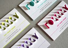 An Awesome Name Card With An Interactive, Pop-Up 3D Logo