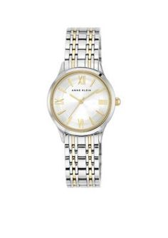 Anne Klein  Classic Gold Two-Tone Watch