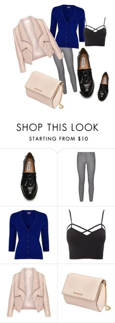 """blu"" by eta-zhaka on Polyvore featuring Steve Madden, MICHAEL Michael Kors, Phase Eight, Charlotte Russe, Zizzi and Givenchy"