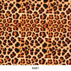 Water transfer film animal skin pattern KA61