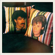 Hall & Oates Dreams Come True pillows