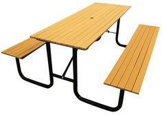 Sunperk Site Furnishings, Classic Park Picnic Table SPP-101