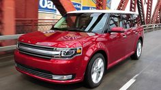 2014 Ford Flex Limited in Ruby Red Metallic