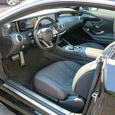 Beauty of SCoupe Mercedes Benz interiors